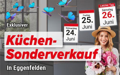 Küchen-Sonderverkauf in Eggenfelden im Juni